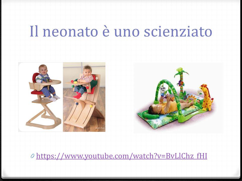 Il neonato è uno scienziato