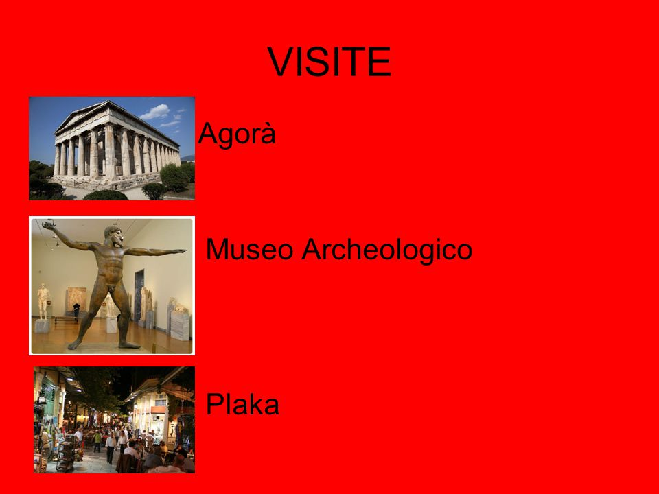 VISITE Agorà Museo Archeologico Plaka