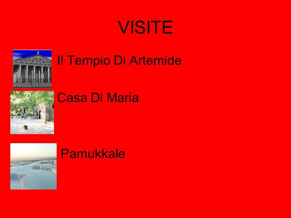 VISITE Il Tempio Di Artemide Casa Di Maria Pamukkale