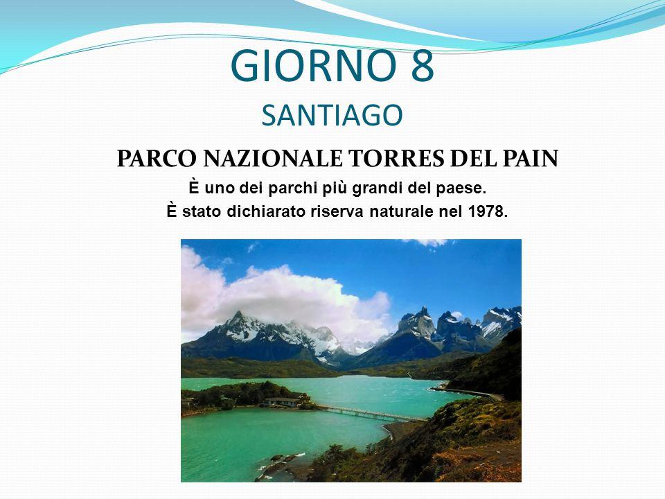 PARCO NAZIONALE TORRES DEL PAIN È uno dei parchi più grandi del paese.