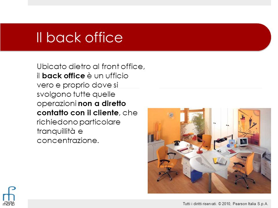 Il back office