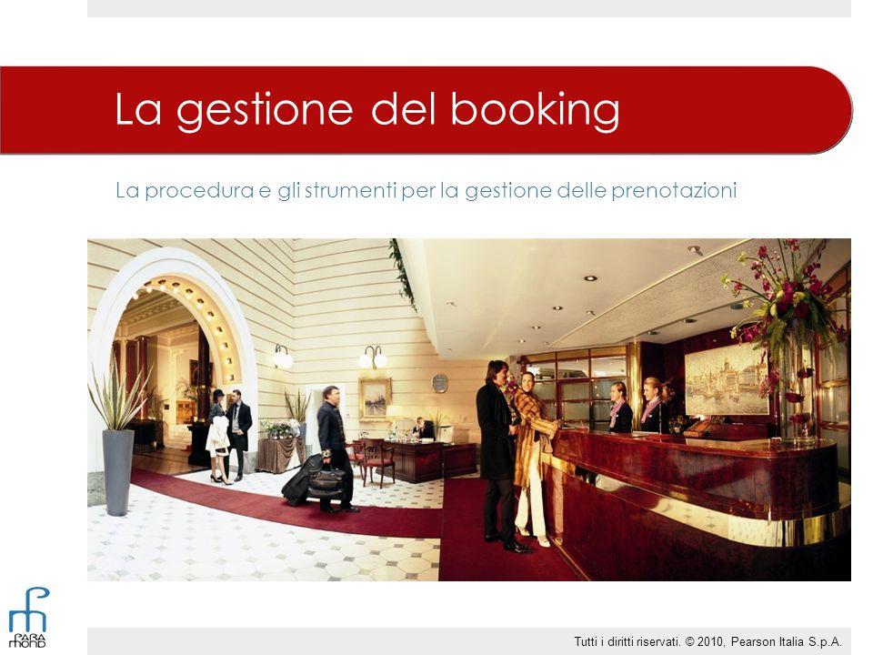 La gestione del booking
