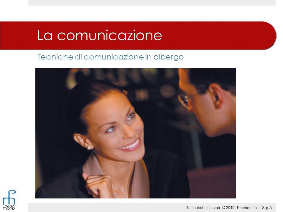 Tecniche di comunicazione in albergo