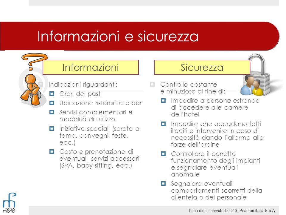 Informazioni e sicurezza