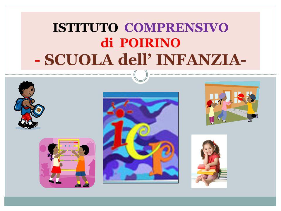 ISTITUTO COMPRENSIVO di POIRINO - SCUOLA dell' INFANZIA-