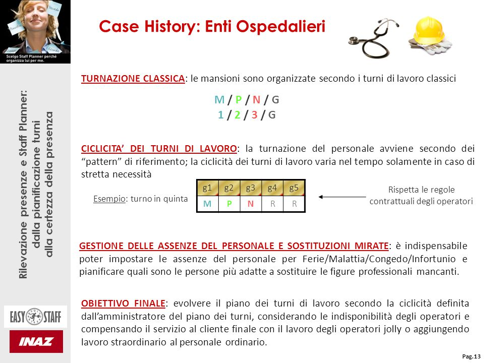 Case History: Enti Ospedalieri