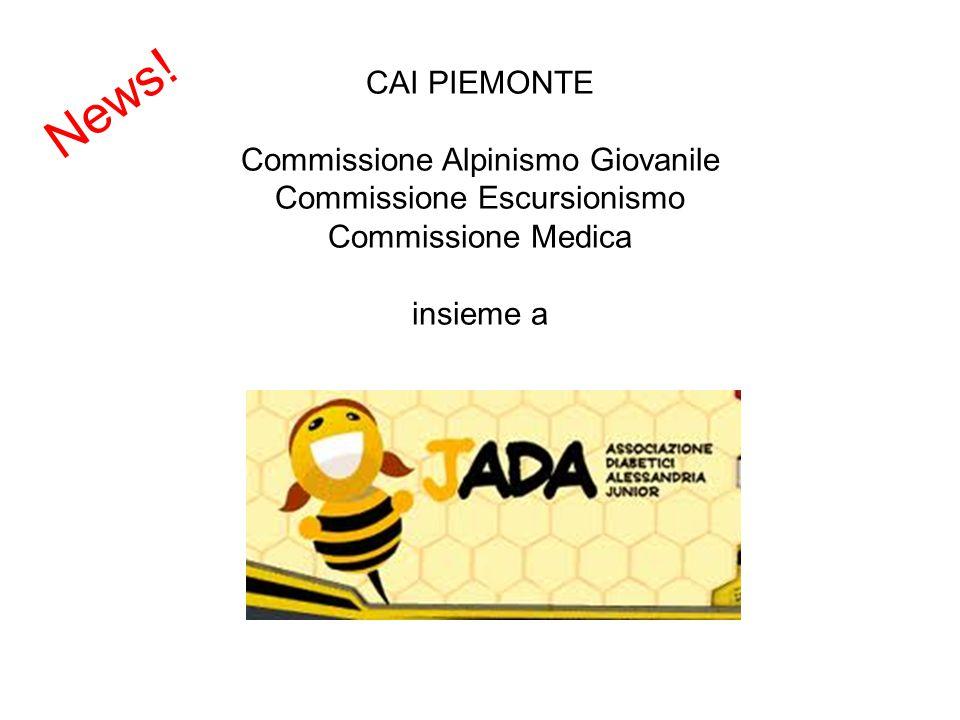 News! CAI PIEMONTE Commissione Alpinismo Giovanile