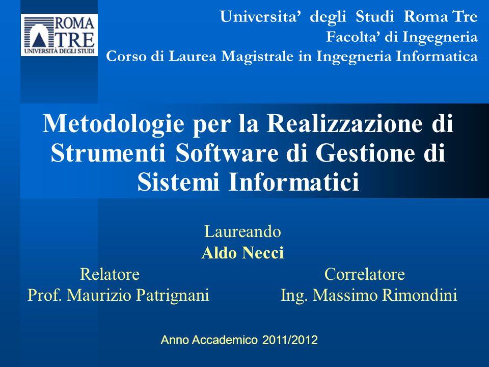 Universita' degli Studi Roma Tre