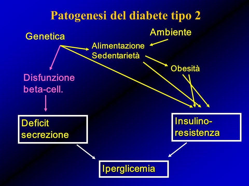 Patogenesi del diabete tipo 2