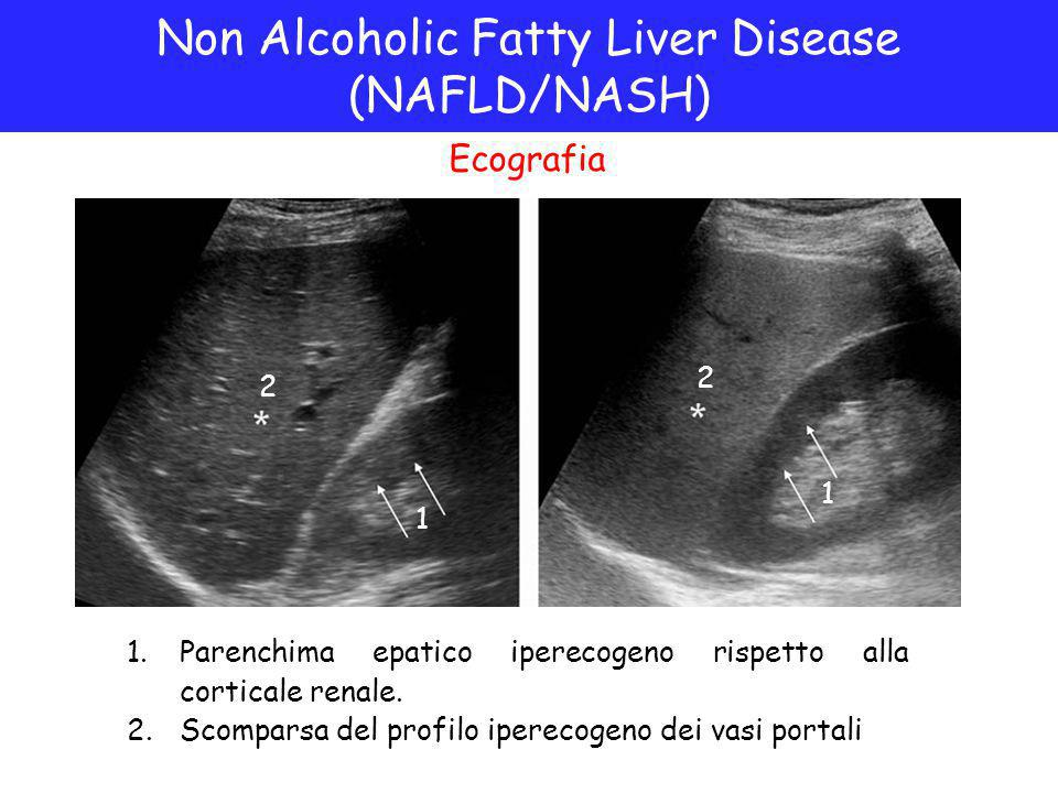Non Alcoholic Fatty Liver Disease (NAFLD/NASH)