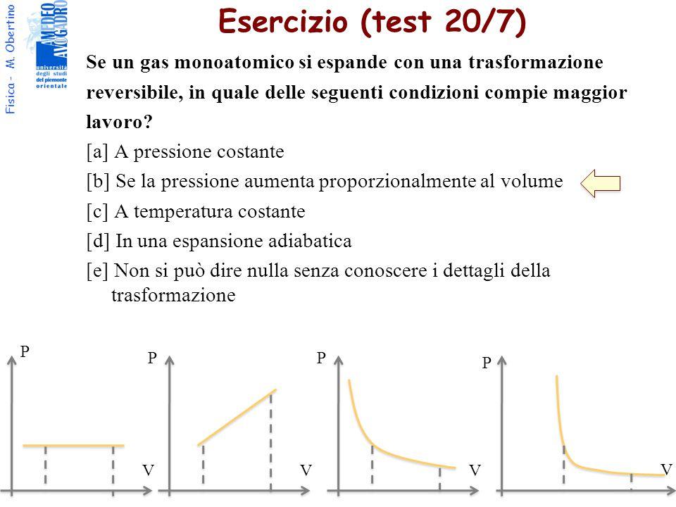 Esercizio (test 20/7)