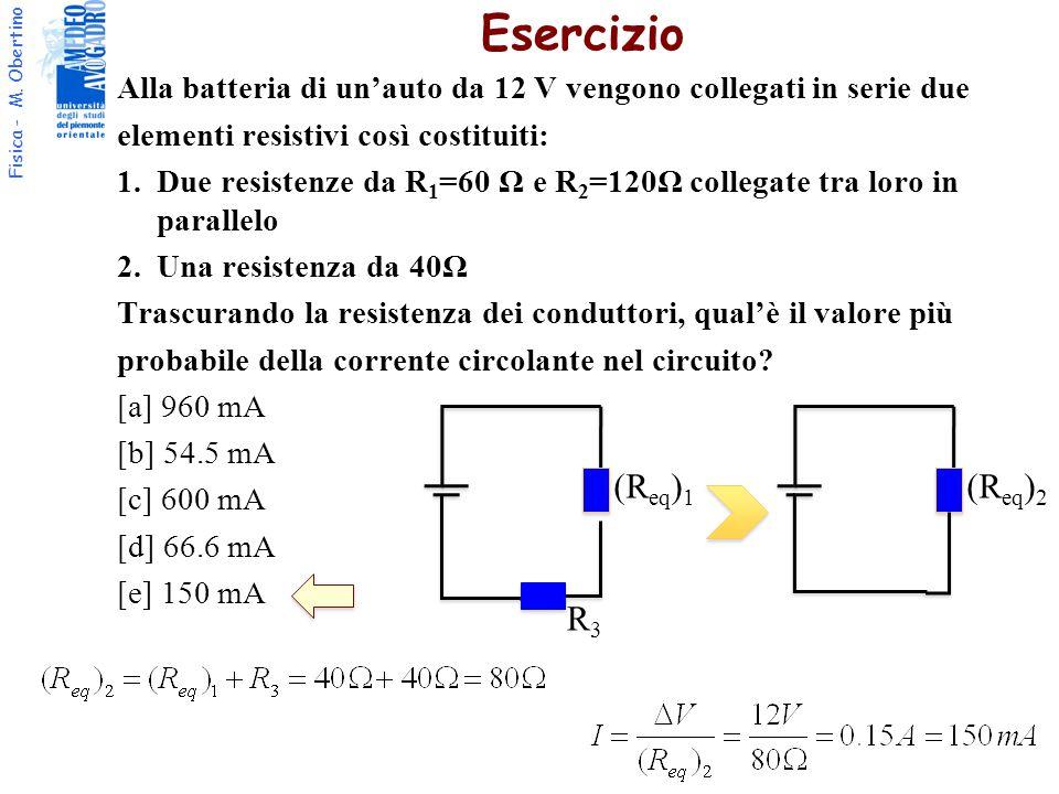 Esercizio (Req)1 (Req)2 R3