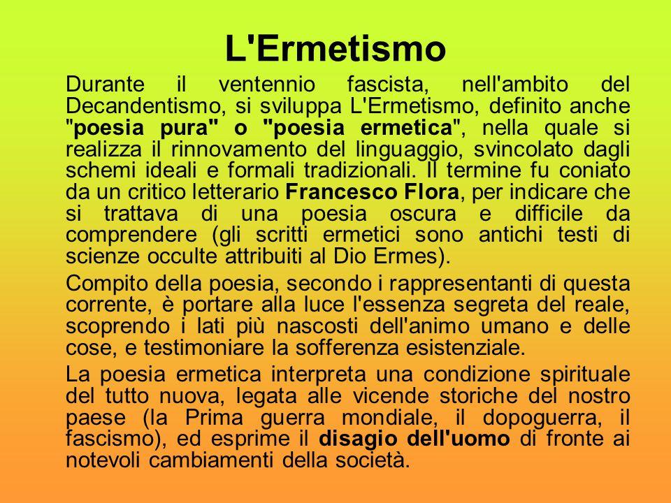 L Ermetismo