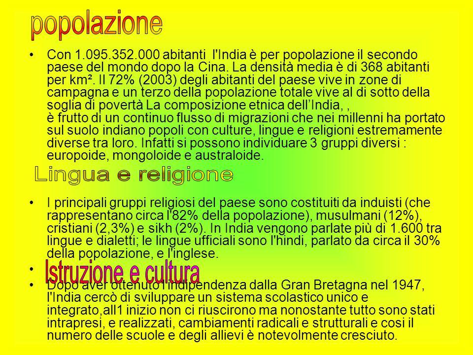 popolazione Lingua e religione Istruzione e cultura