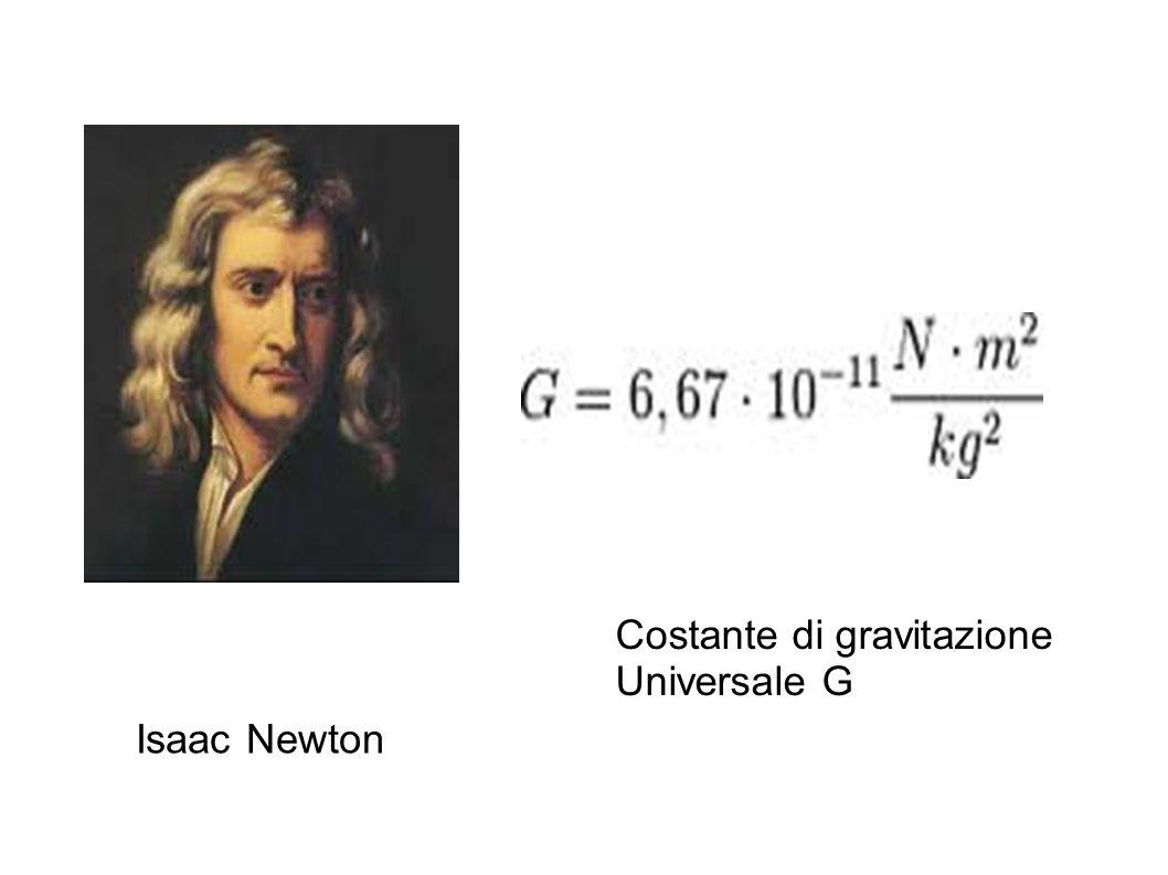 Costante di gravitazione