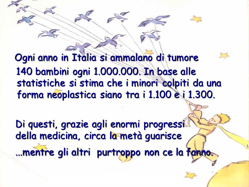 Ogni anno in Italia si ammalano di tumore