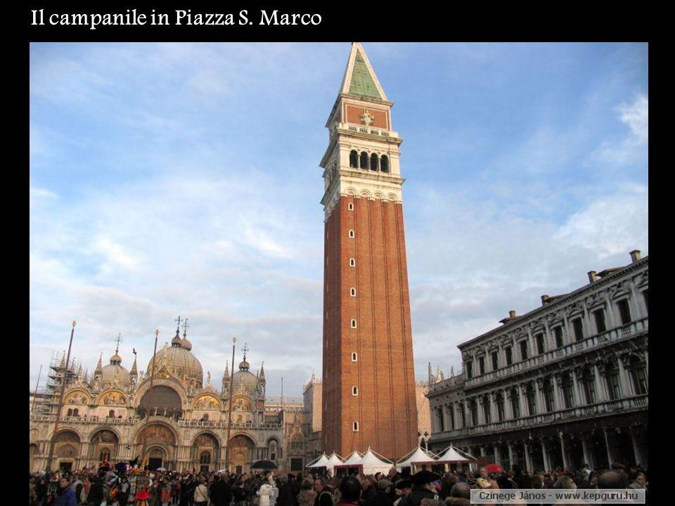 Il campanile in Piazza S. Marco