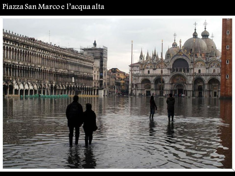 Piazza San Marco e l'acqua alta