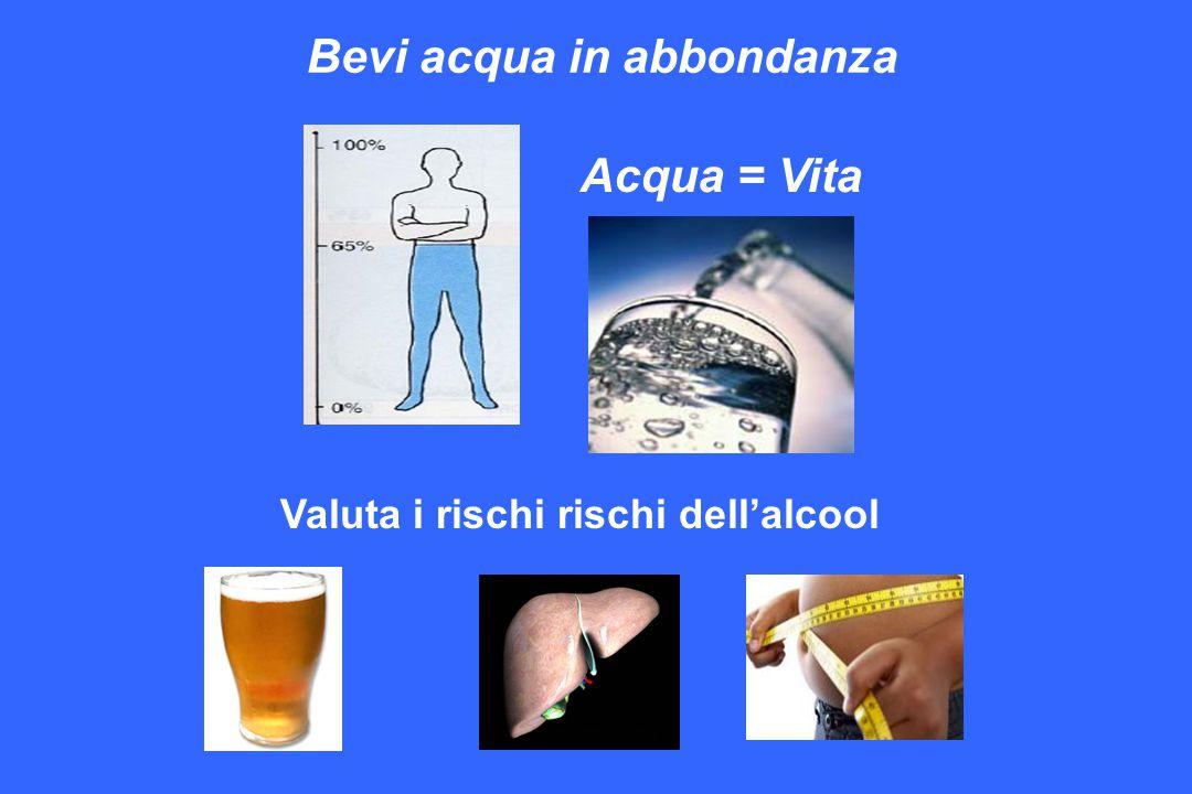 Valuta i rischi rischi dell'alcool