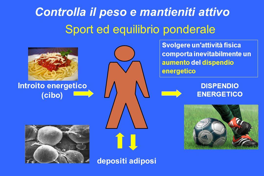 Sport ed equilibrio ponderale