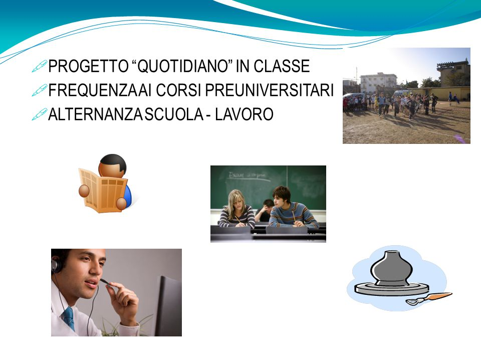 PROGETTO QUOTIDIANO IN CLASSE