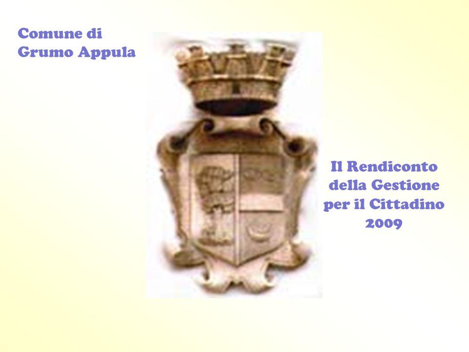 Il Rendiconto della Gestione per il Cittadino 2009