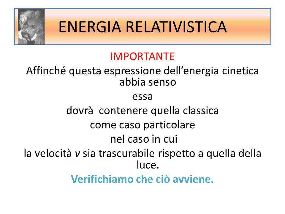 ENERGIA RELATIVISTICA