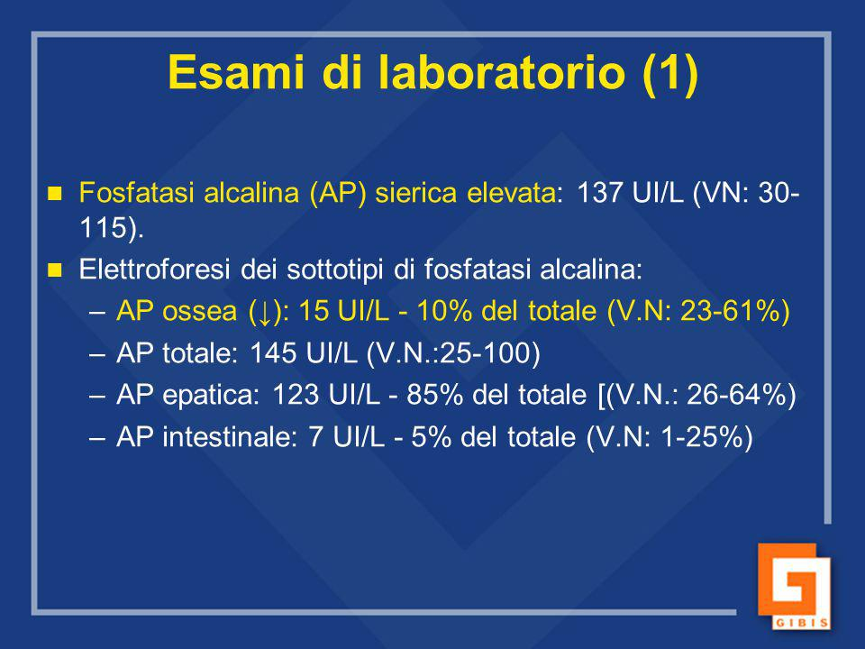 Esami di laboratorio (1)