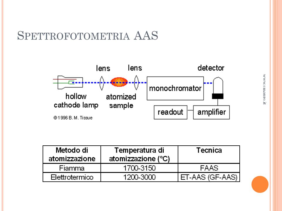 Spettrofotometria AAS