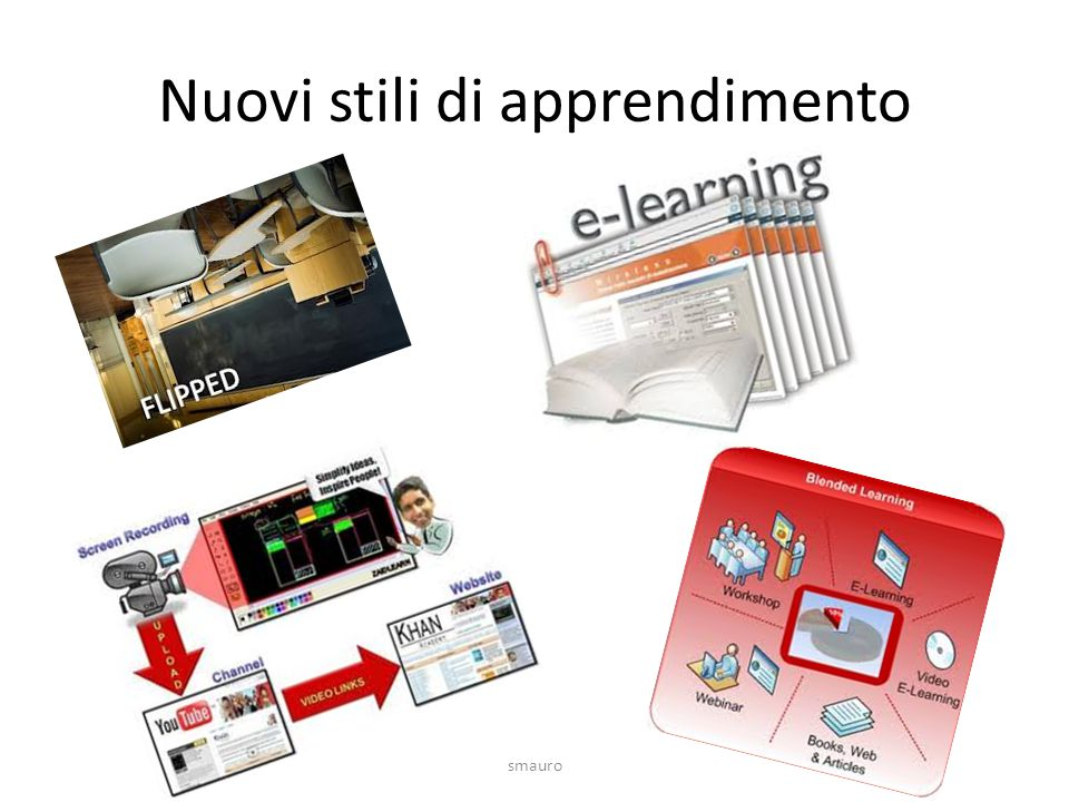 Nuovi stili di apprendimento