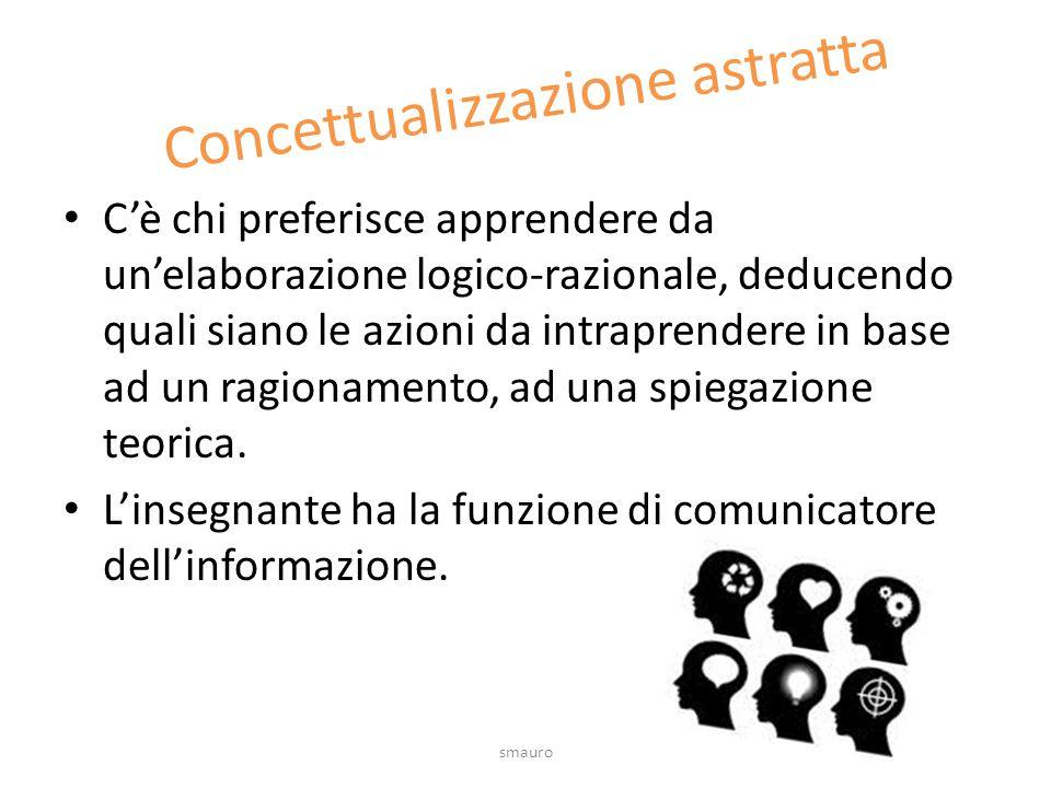 Concettualizzazione astratta