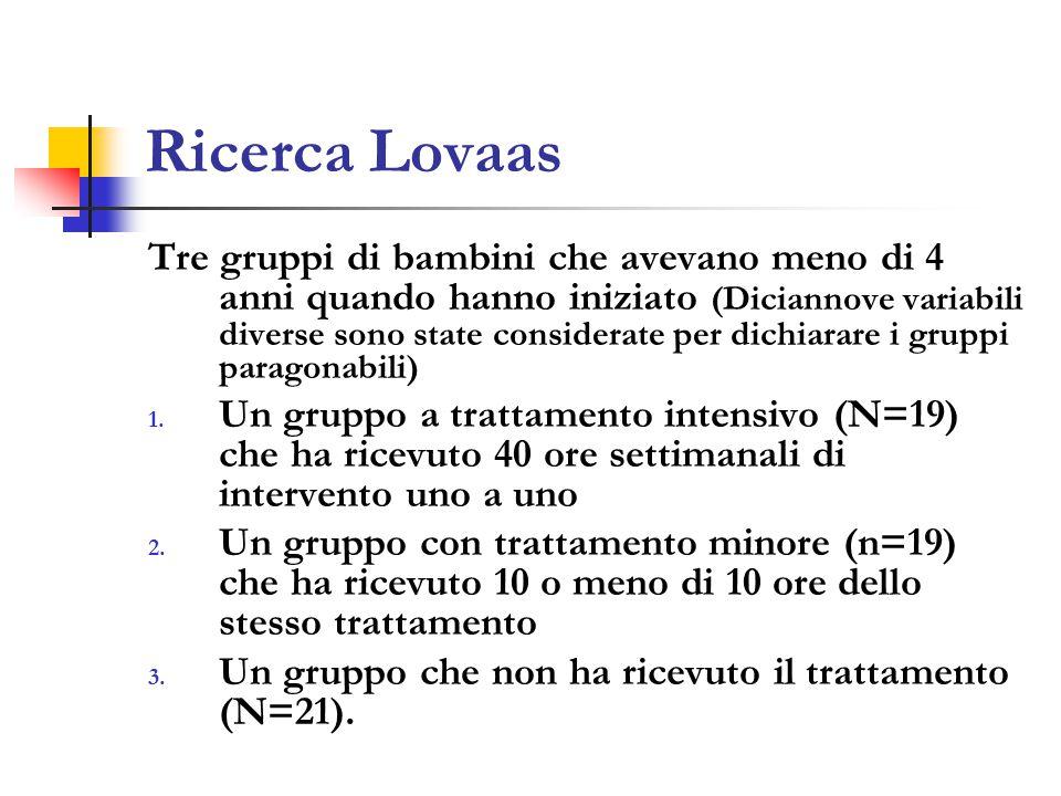 Ricerca Lovaas