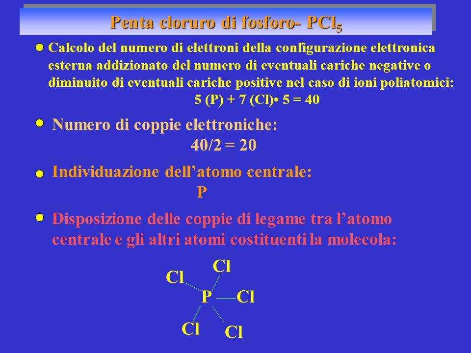 Penta cloruro di fosforo- PCl5
