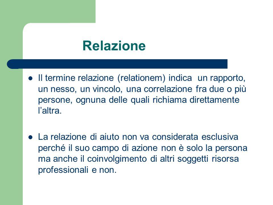 Relazione