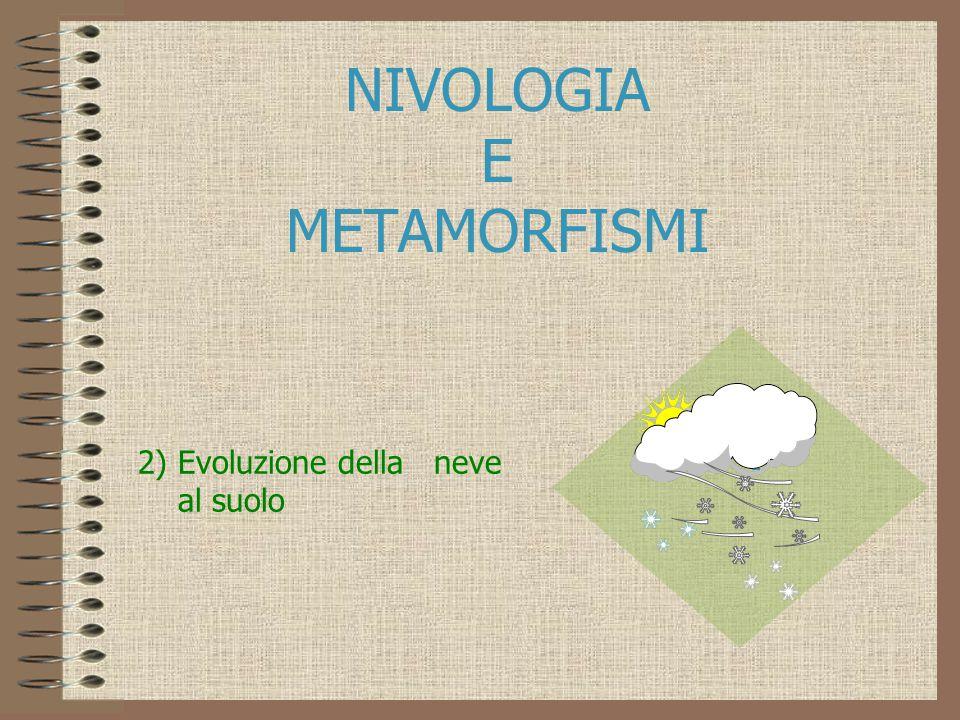 NIVOLOGIA E METAMORFISMI