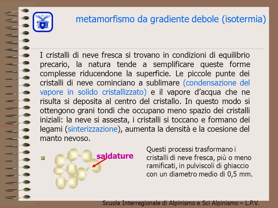 metamorfismo da gradiente debole (isotermia)