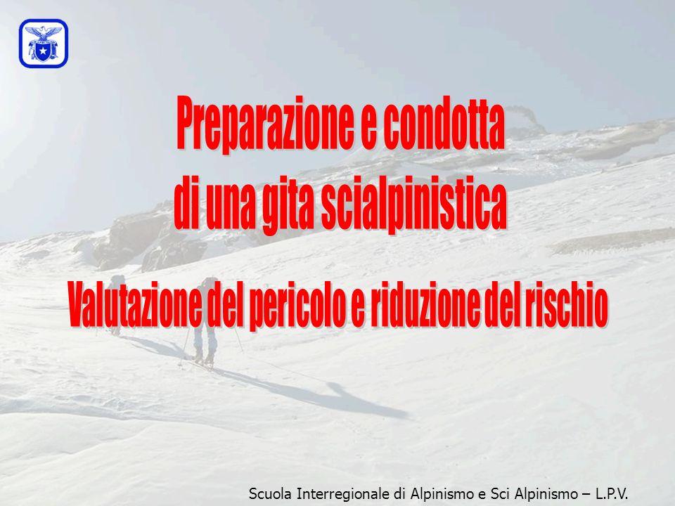 Preparazione e condotta di una gita scialpinistica