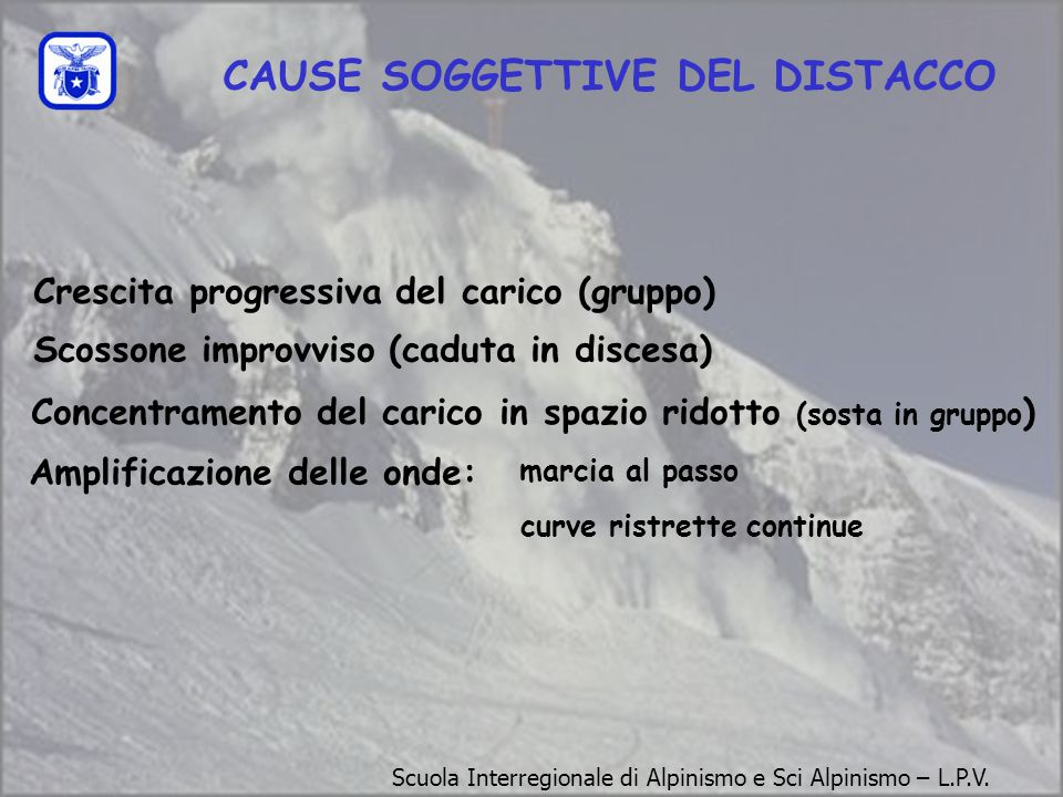 CAUSE SOGGETTIVE DEL DISTACCO