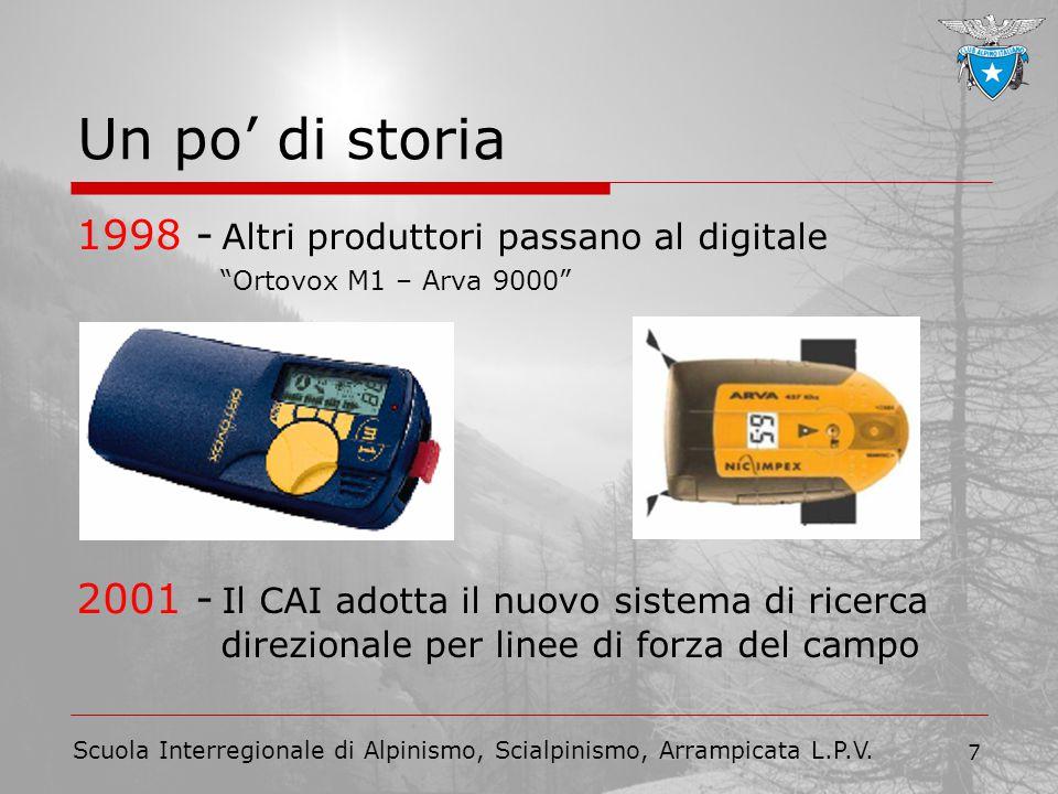 Un po' di storia 1998 - Altri produttori passano al digitale