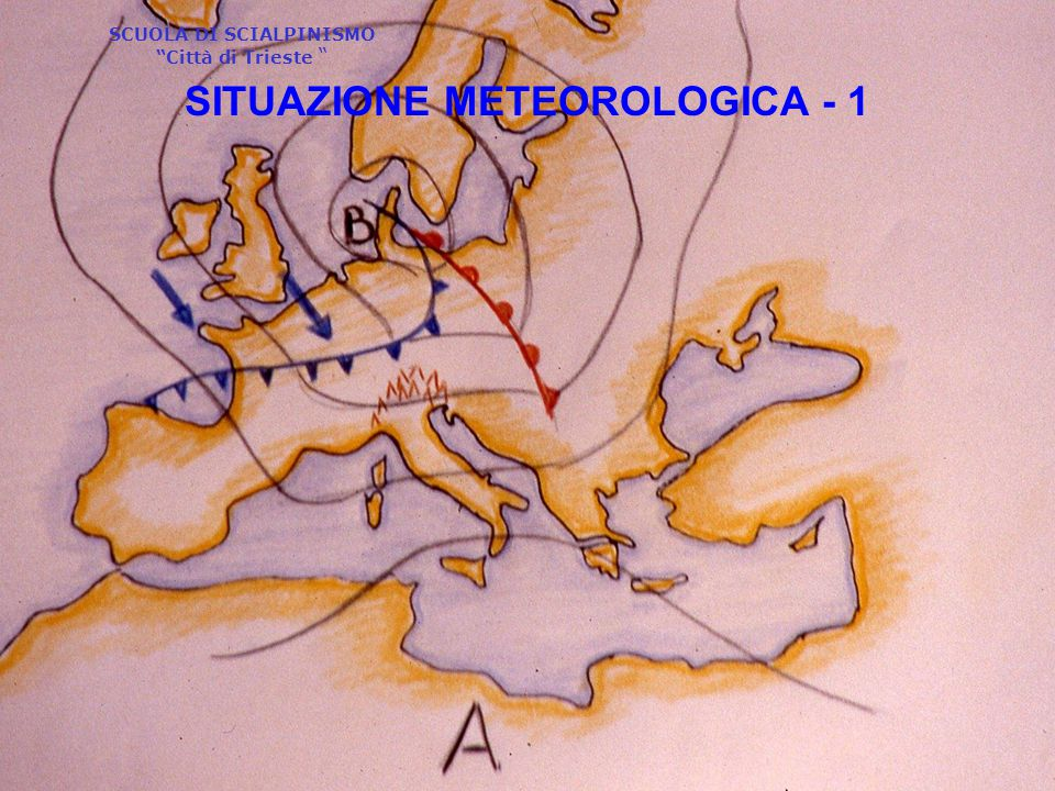 SITUAZIONE METEOROLOGICA - 1