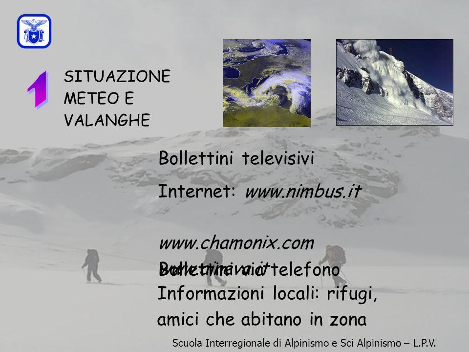 1 Bollettini televisivi