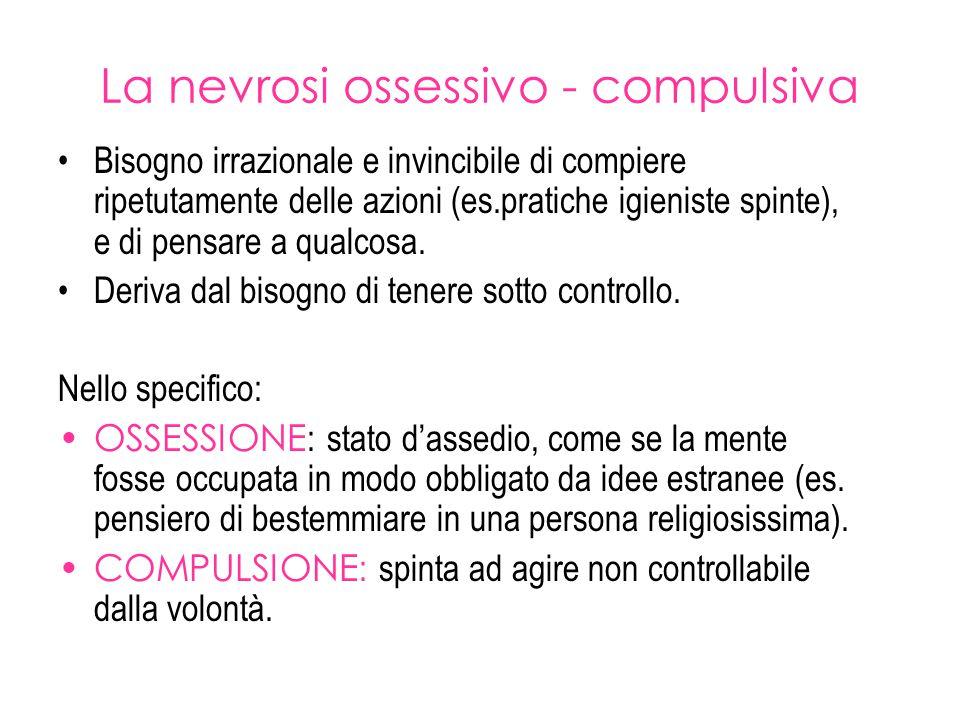 La nevrosi ossessivo - compulsiva