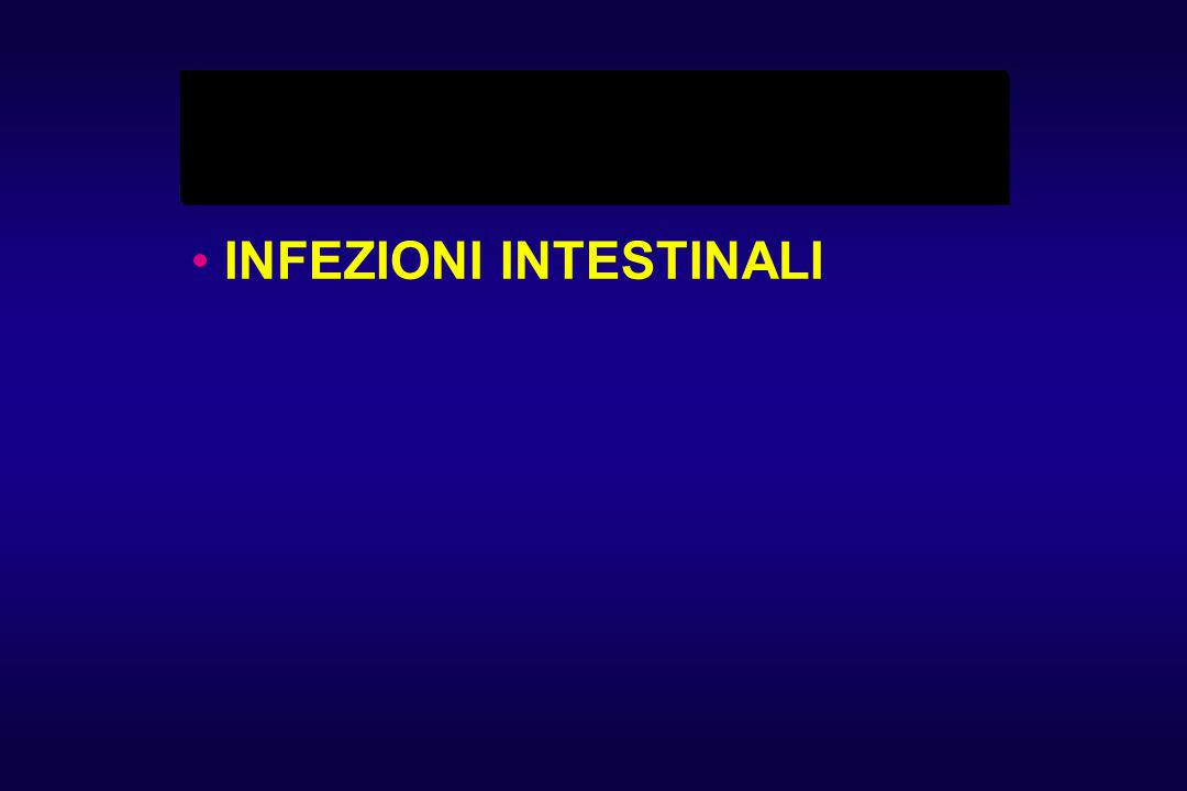 INFEZIONI INTESTINALI
