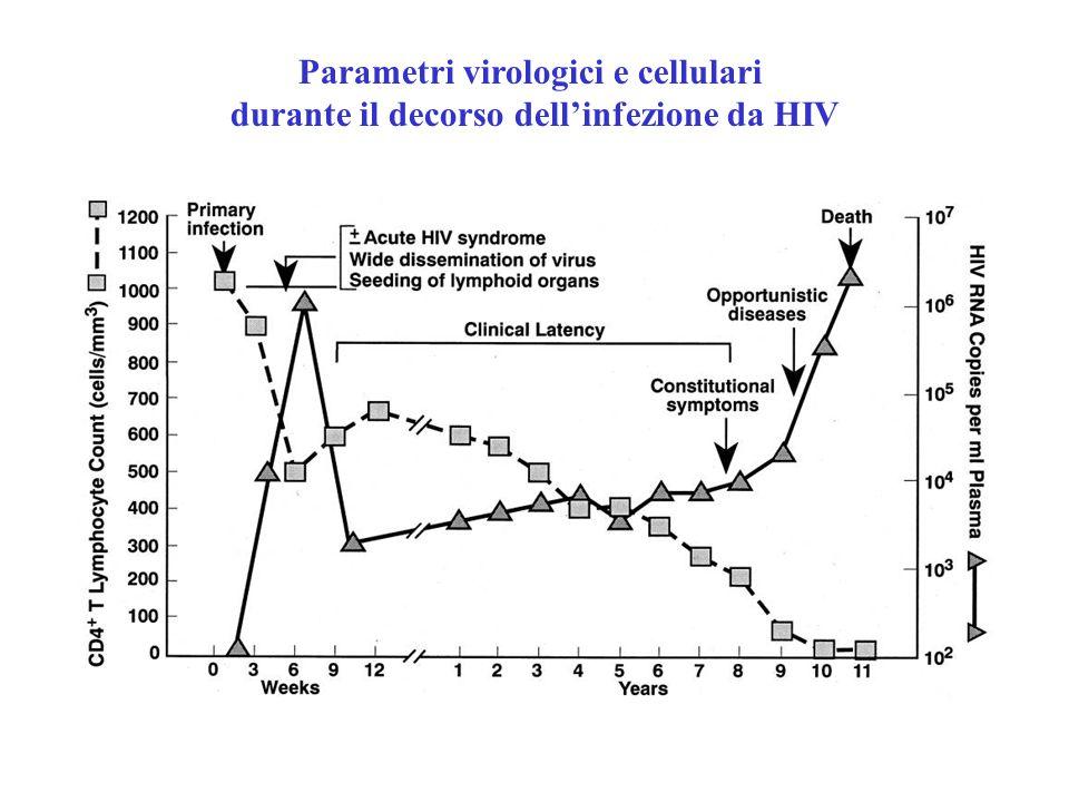 Parametri virologici e cellulari