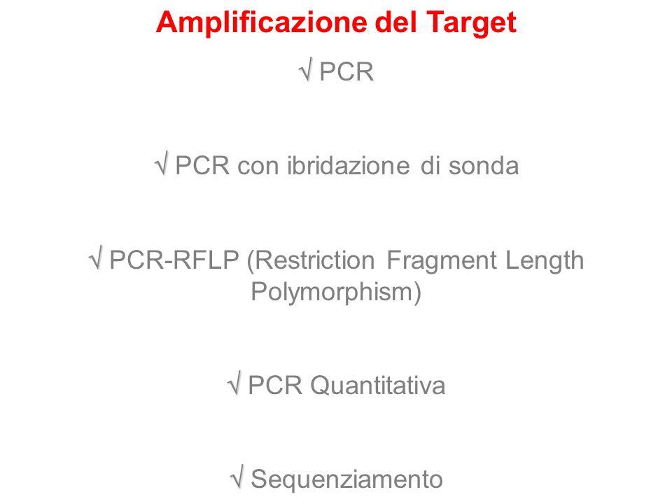 Amplificazione del Target