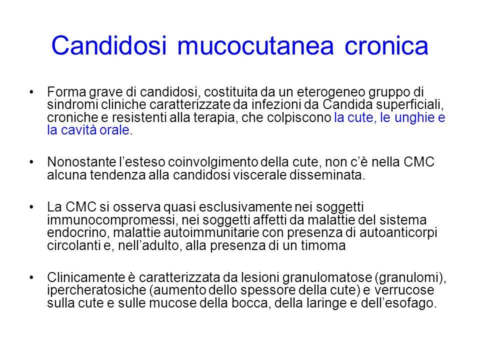 Candidosi mucocutanea cronica