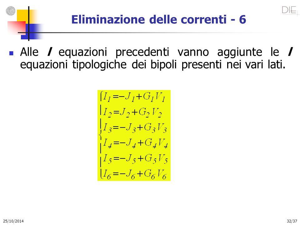 Eliminazione delle correnti - 6