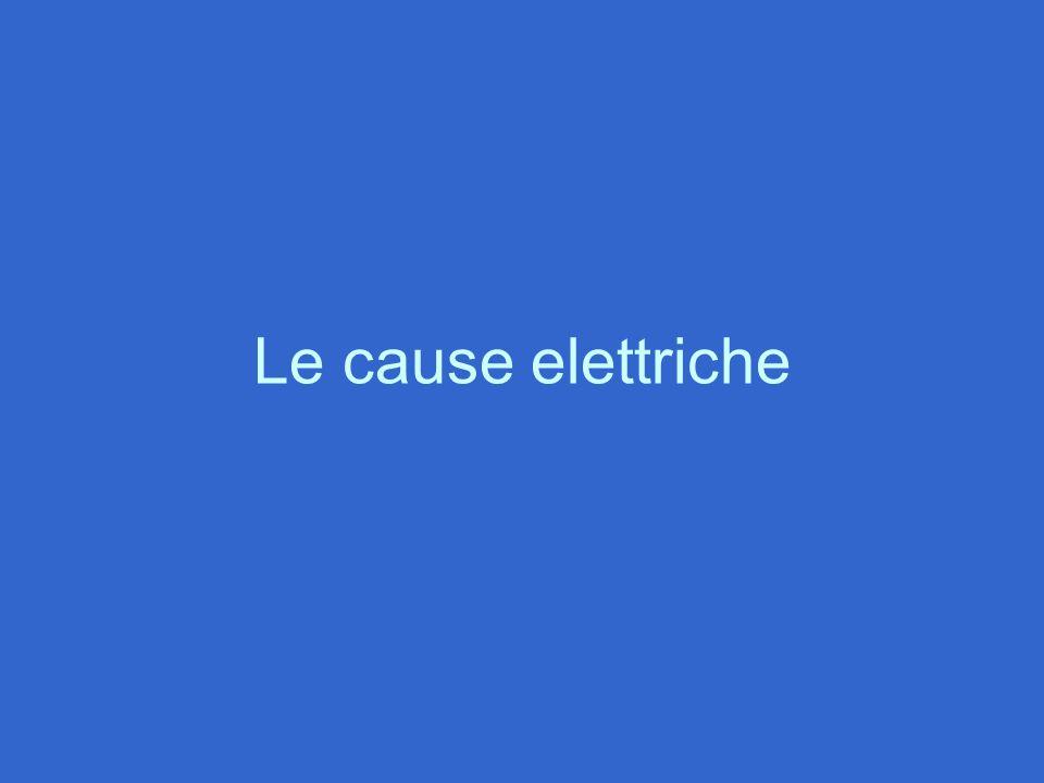 Le cause elettriche