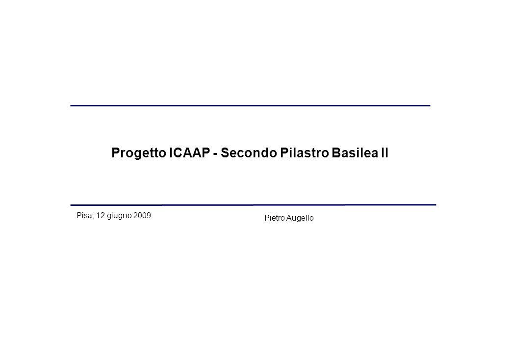 Progetto ICAAP - Secondo Pilastro Basilea II