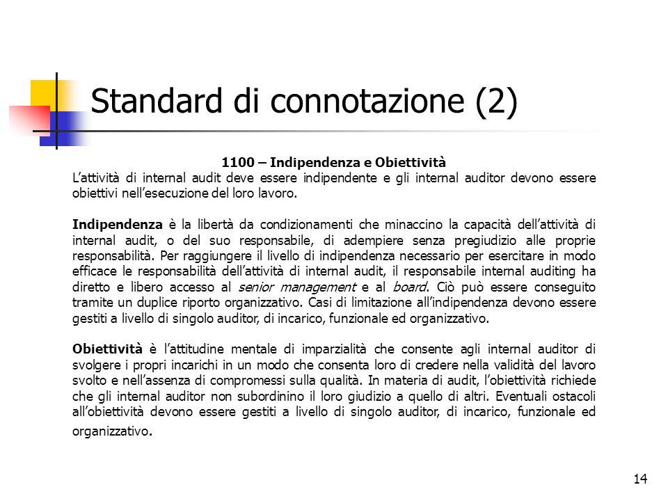 Standard di connotazione (2)